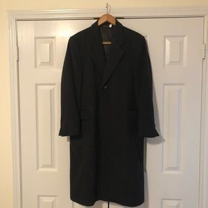 Today's Man Wool/Cashmere Blend Topcoat